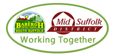 babergh and mid suffolk district council banner