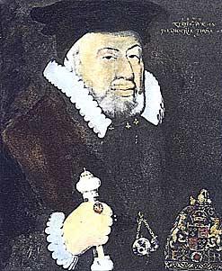 Sir Nicholas Bacon 1509–1579.