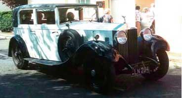 Vintage 1933 Rolls Royce