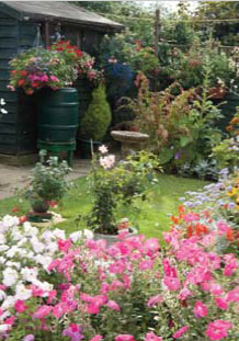 One of the gardens open for Walsham-le-Willows Open Gardens Weekend
