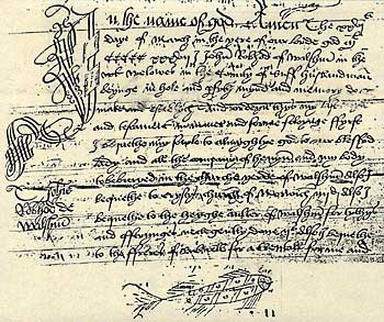 "This will of John Robwood dated 1537 is the first known addition of ""Willows"" to the place name of Walsham"