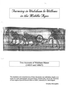 Walsham-le-Willows Manor Accounts