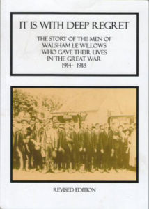 book cover showing imaging of returning war veterans