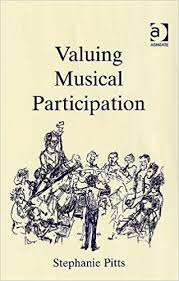 publication 'valuing musical particpation' cover