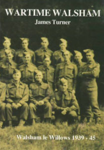 book cover showing soldiers from walsham-le-willows