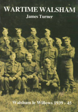 book cover, sepia image of the walsham-le-willows home guard