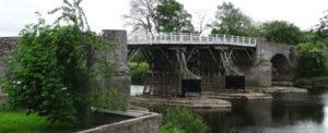 A toll bridge