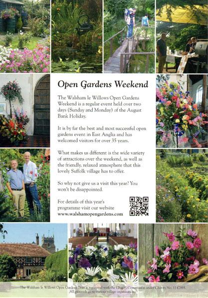 Walsham Open Gardens 2017