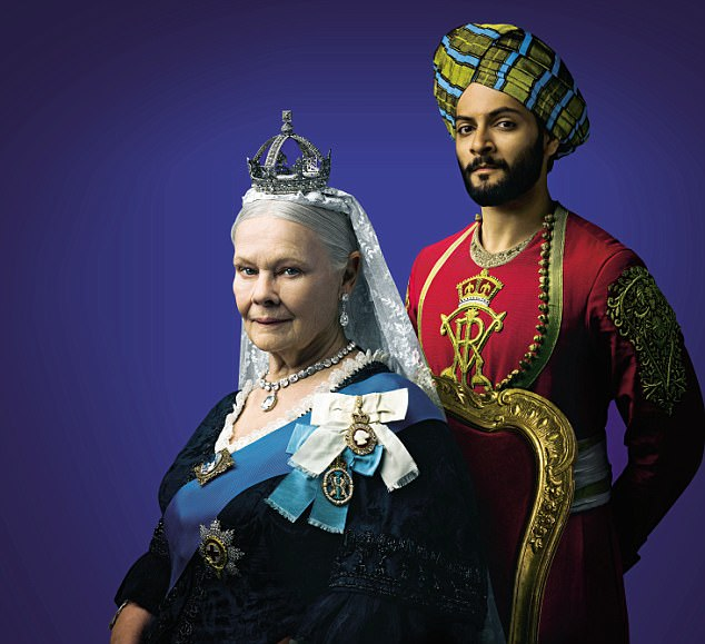 promotional photograph for film victoria and abdul