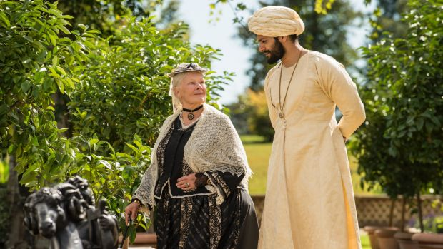 still from the movie Victoria and Abdul