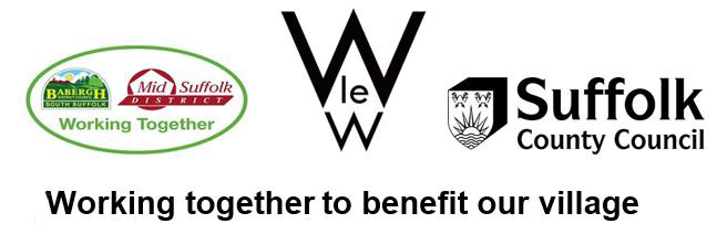 walsham le willows neighbourhood plan 'working together' logo