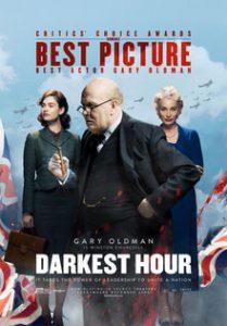 poster for film, 'The Darkest Hour'