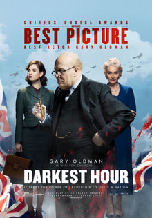 poster for film, 'The Darkest Hour'