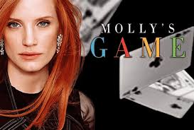 promotional poster for film Molly's Game
