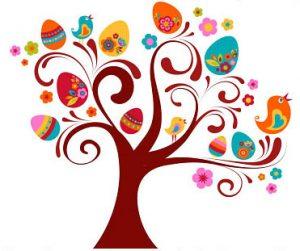 Easter Egg Hunt Tree